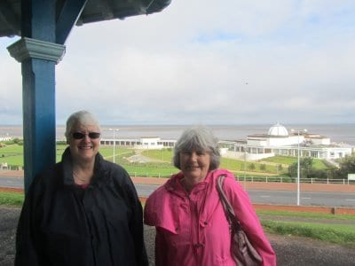 Yvonne Johnstone and Margaret Daniels from Fleetwood Civic Society, Fleetwood Heritage Open Days