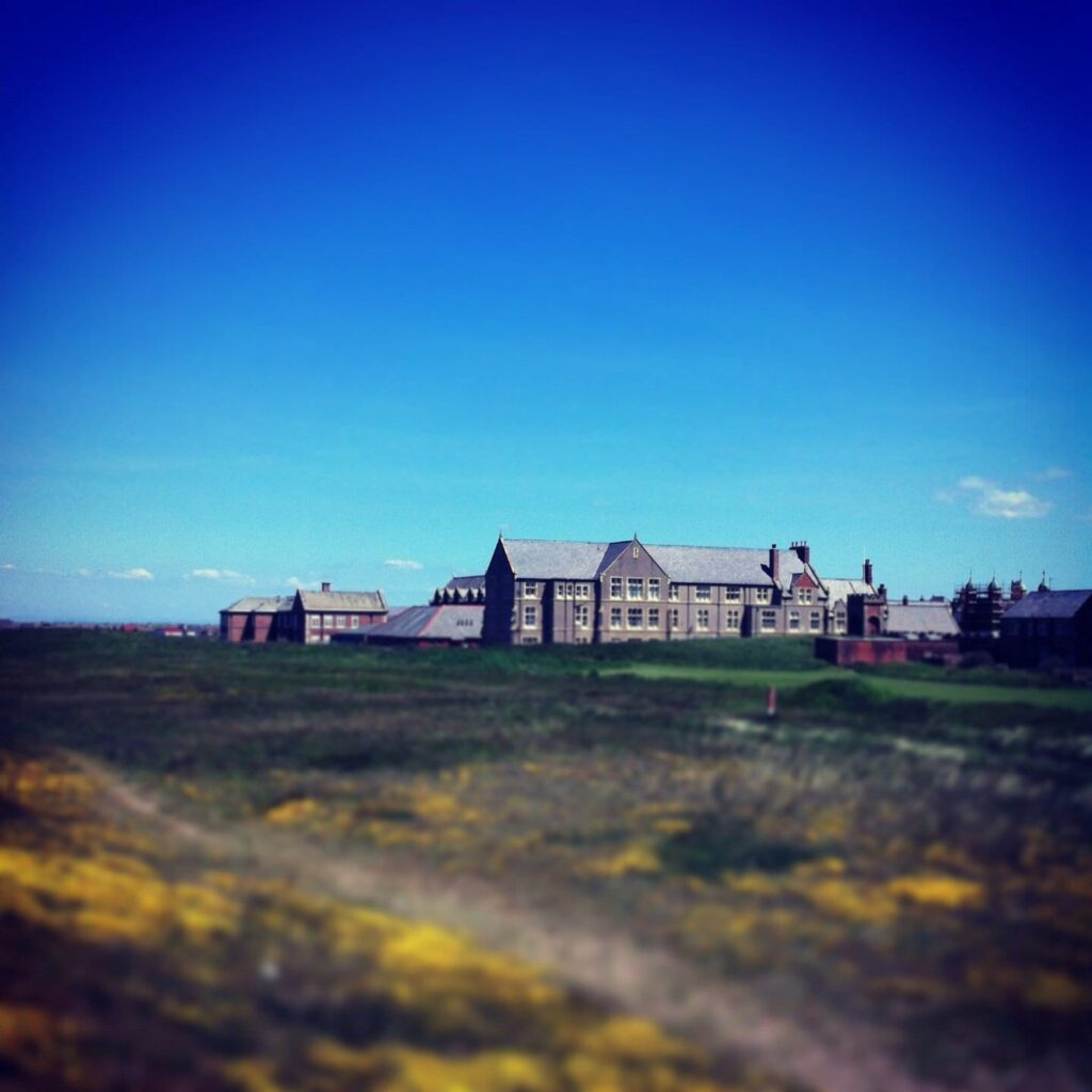 Rossall School. Photos of Fleetwood from Alan Burrows
