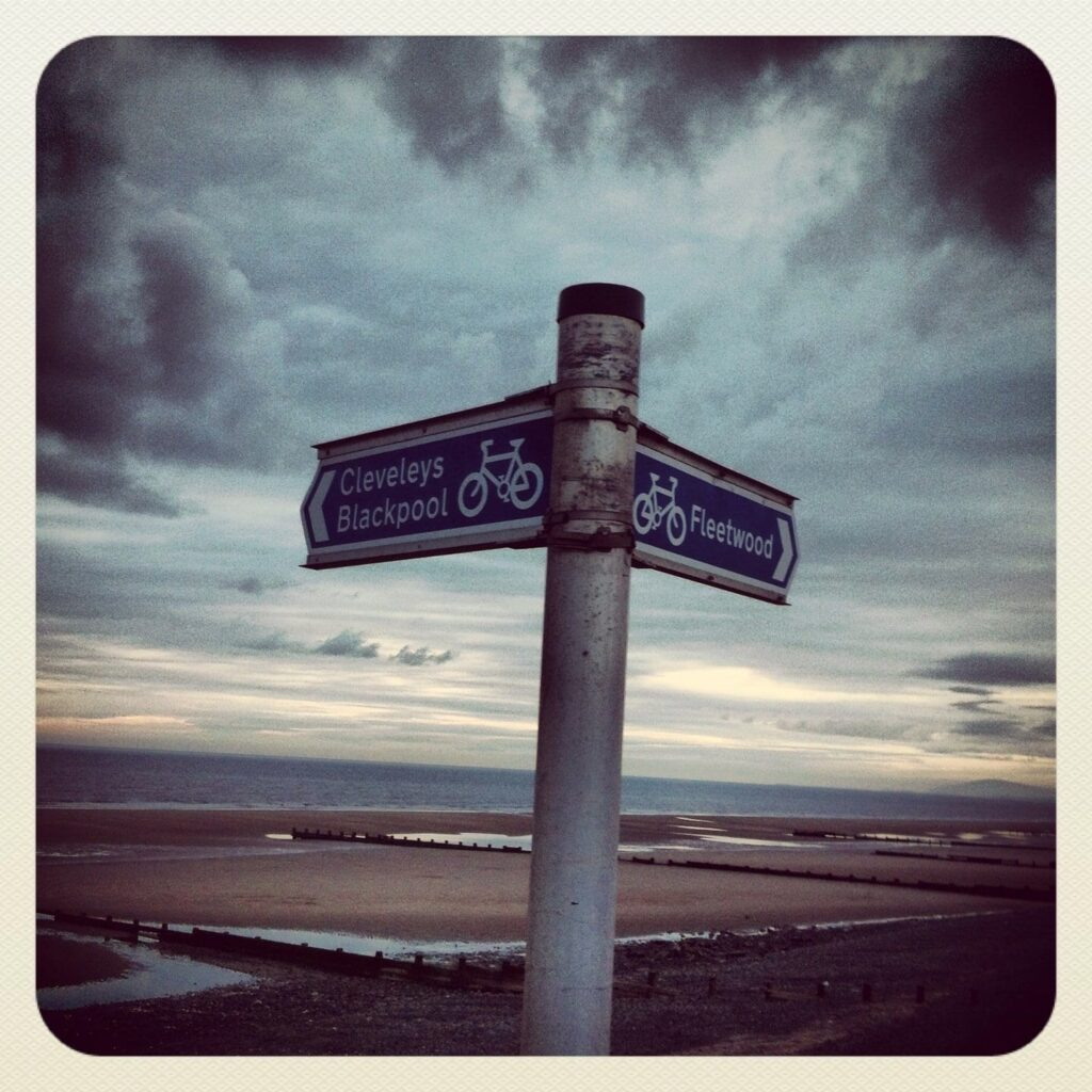 Which way next. Photos of Fleetwood from Alan Burrows