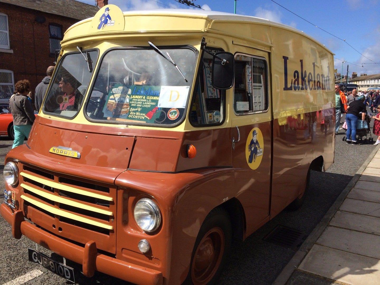Vintage Vehicle at Tram Sunday, contact us at Tram Sunday