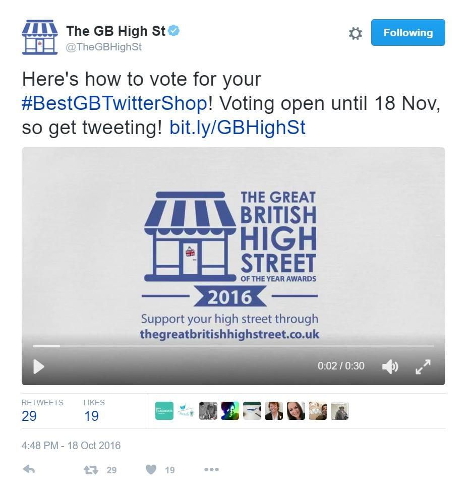 Best GB Twitter shop 2016
