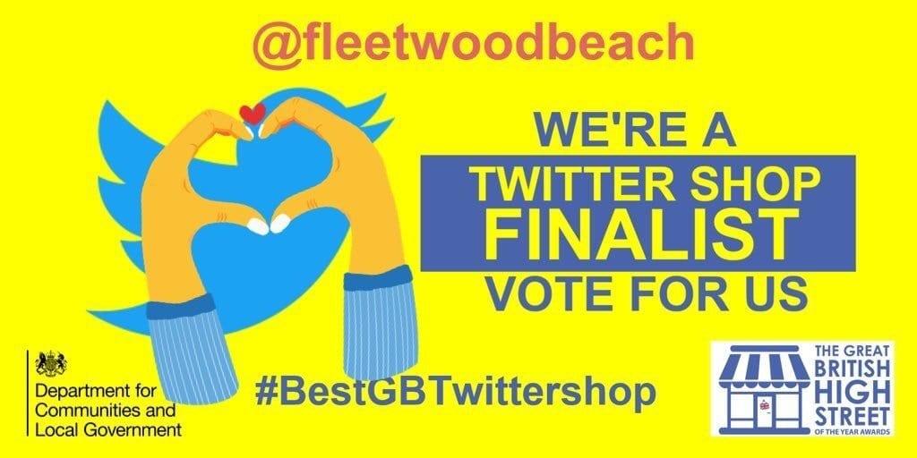 Fleetwood Beach Kiosk, best GB Twitter shop