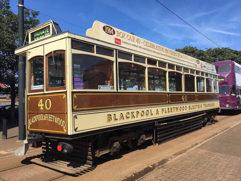 Fleetwood Tram Sunday 2017 Photos