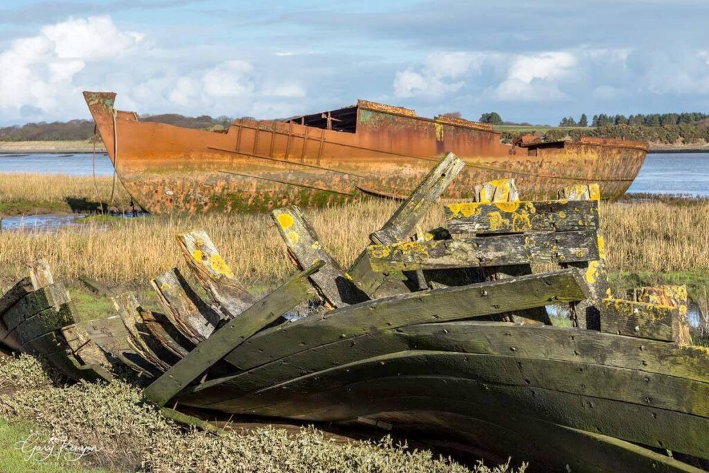 Boats at Fleetwood Marsh Nature Park. Photo: Gary Kenyon