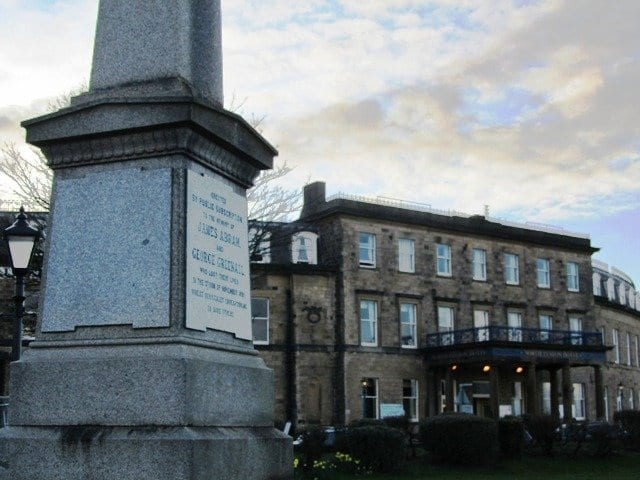Memorial Obelisk at Euston Gardens Fleetwood