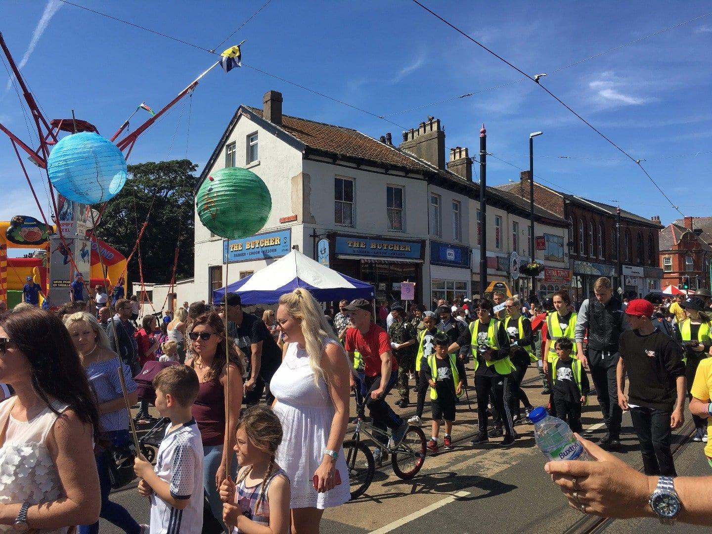 SpareParts Arts Parade, Fleetwood Tram Sunday 2017 Photos