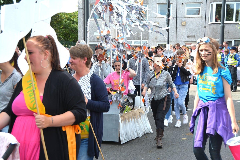 SpareParts Parade at Fleetwood Tram Sunday 2016