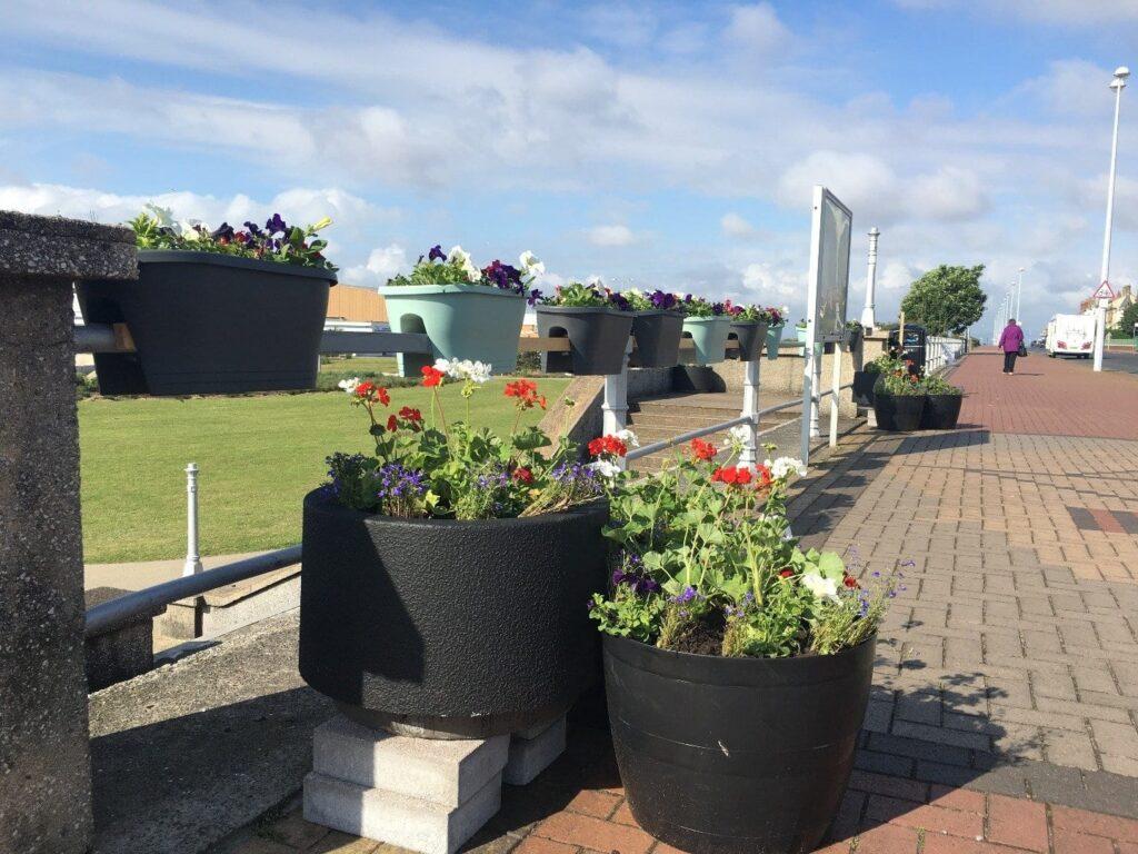 The Esplanade at The Mount, walking in Fleetwood