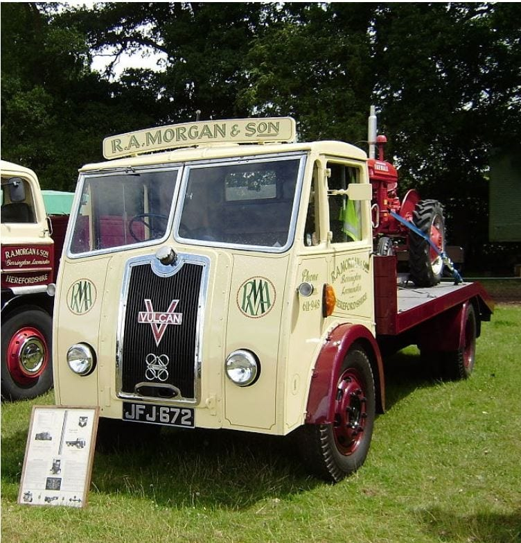 Vulcan Truck, one of the Highlights of Tram Sunday 2018