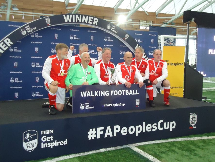 A National Win for Fleetwood Town Flyers Walking Football