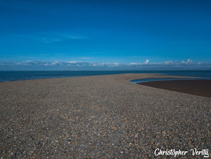Offshore Shingle Island forming at Fleetwood. Photo: Christopher Verity